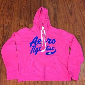 NWT Aeropostale Hoodie Zip Up Sweatshirt Jacket